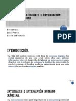 Interfaces de Usuario e Interacción Humano-Máquina