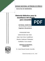 Material para diseño de partes
