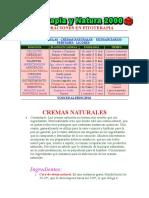Elaboraciones en Fitoterapia.cremas y Aceites
