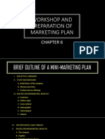Workshop and Preparation of Marketing Plan