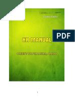 HR Manual of Orient Paper Mills