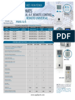 Control universal aplply parts