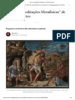 Artigo Descartes - Da Guerra No Terreno Das Naturezas Corpóreas
