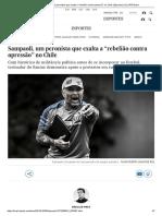 """Sampaoli, Um Peronista Que Exalta a """"Rebelião Contra Opressão"""" No Chile _ Esportes _ EL PAÍS Brasil"""