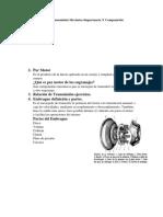 Sistemas de Transmisión Mecánica Importancia Y Composición