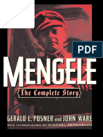 Mengele, The Complete Story - Gerald L Posner, John Ware.pdf