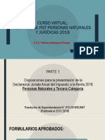 Curso Virtual LLenado de PDT Personas Naturales y Jurídicas 2018 (1)