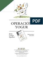 Operación Yogur Anaya