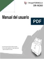 DR-M260 User Guide ES