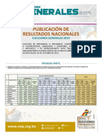 Separata Resultados Nacionales EG 2019