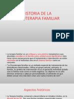 Historia de La Psicoterapia Familiar