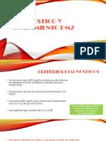 Diagnóstico y Tratamiento Dm2