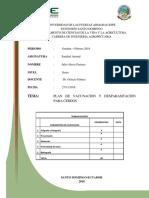 Informe Plan de Vacunacion y Desparacitacion Cerdos