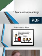 Teor as de Aprendizaje Constructivismo (1)