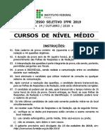 IFPR 2019