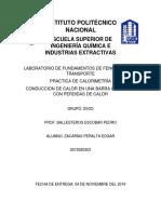 Lab. de Fenomenos (Calorimetria).