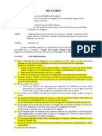 Dictamen Observaciones Borrador de Tesis Luque Del Carpio Richard 2019-07-24