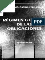 Regimen General de Obligaciones - Ospina Fernandez