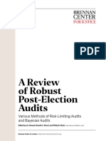 A Review of Robust Post-Election Audits