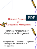 1. Historical Perspective of Co-operative Management 170609