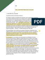 02. Una Breve Sinopsis de La Historia Pública de La Iglesia