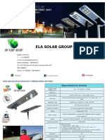 ela group solar led street light with cctv camera  els-she15  30  new  2019