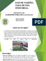 La Agroindustria de Las Algas (1)