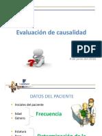Evaluacion de Causalidad 2016