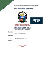 Derecho Procesa Civil Monografia Jurisprudencia y Competencia...