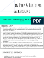 lesson prep and building background- ell final