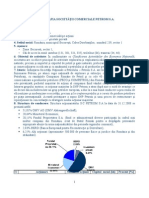 Monografia Societatii Comerciale Petrom SA