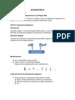 Resumen Expresiones Regulares (Formato Apa)