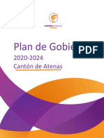 Plan de Gobierno, Partido Unidos Podemos - ATENAS