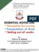 Surveying Notes Har