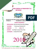 Pedagogico Portafolio 2019