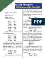 14- Spassky vs. Kaporv