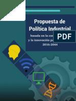 Politica industrial en guatemala