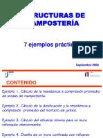 Ejemplos Mampostería
