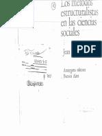 Los métodos estructuralistas en las ciencias sociales-Capitulo III