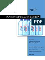 Haccp Aqua Mia