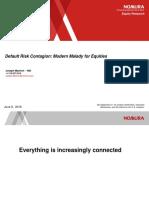 Default Risk Contagion -Nomura