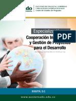 ESPECIALIZACION GESTION DE PROYECTO
