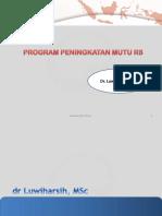 2. Program Peningkatan Mutu RS