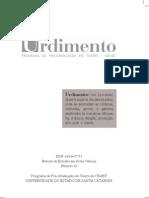Revista Urdimento N. 10 - 2008