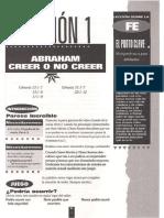 Abrahan - Creer o No Creer