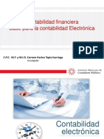 Contabilidad Financiera base para la Contabilidad Electronica