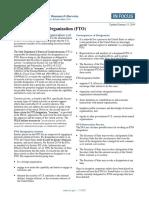Foreign Terrorist Organization Fact Sheet