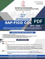 SAP Course Key Features