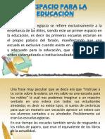 EL ESPACIO PARA LA EDUCACIÓN.pptx