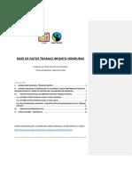 Base Datos Trabajoinfantil HONDURAS